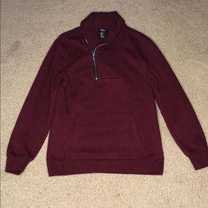 Turtleneck Zipper Sweater